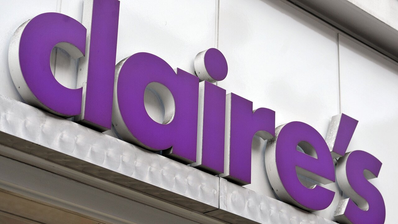 Asbestos found in Claire's cosmetics, FDA says