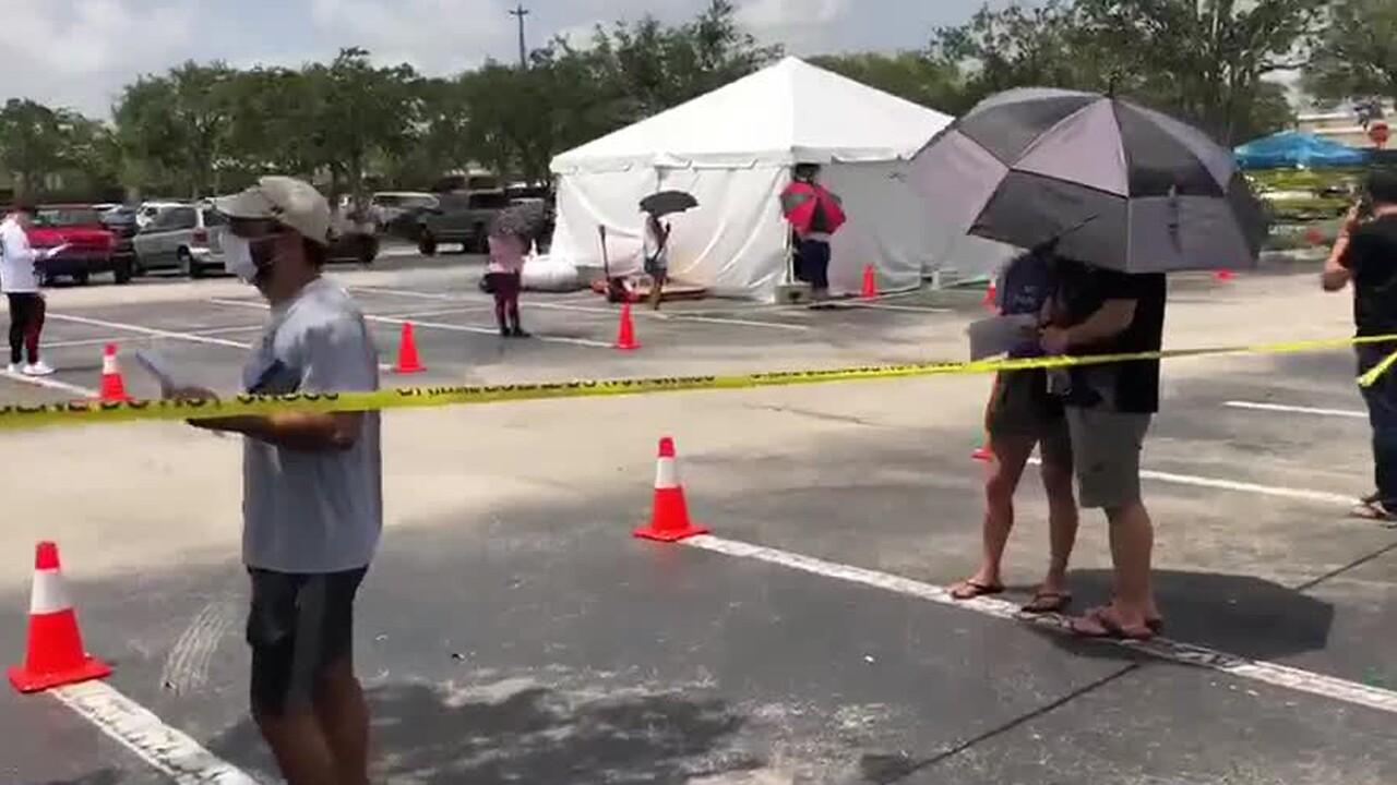 Coronavirus testing in Palm Beach County