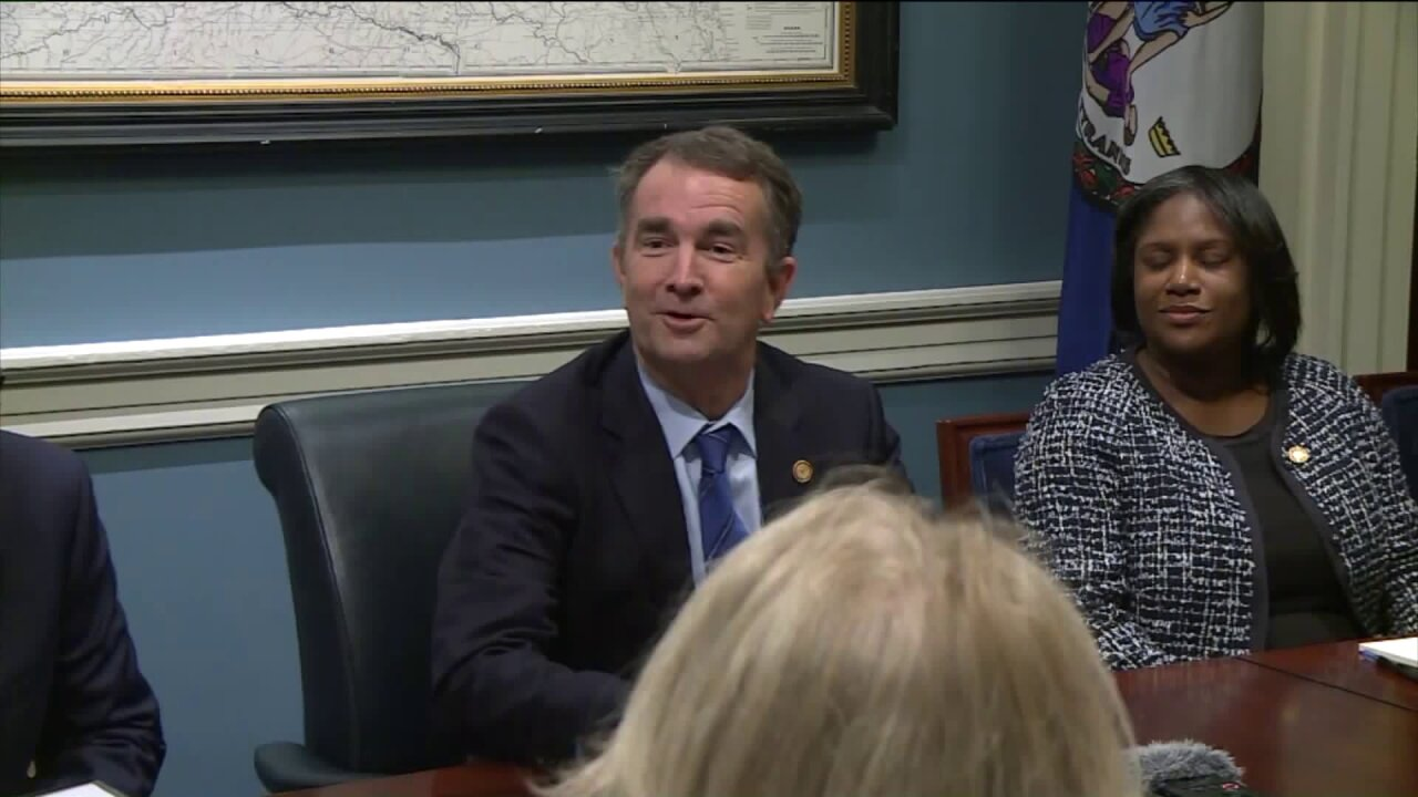 Northam says he will reintroduce gun control measures after Dems win control of General Assembly