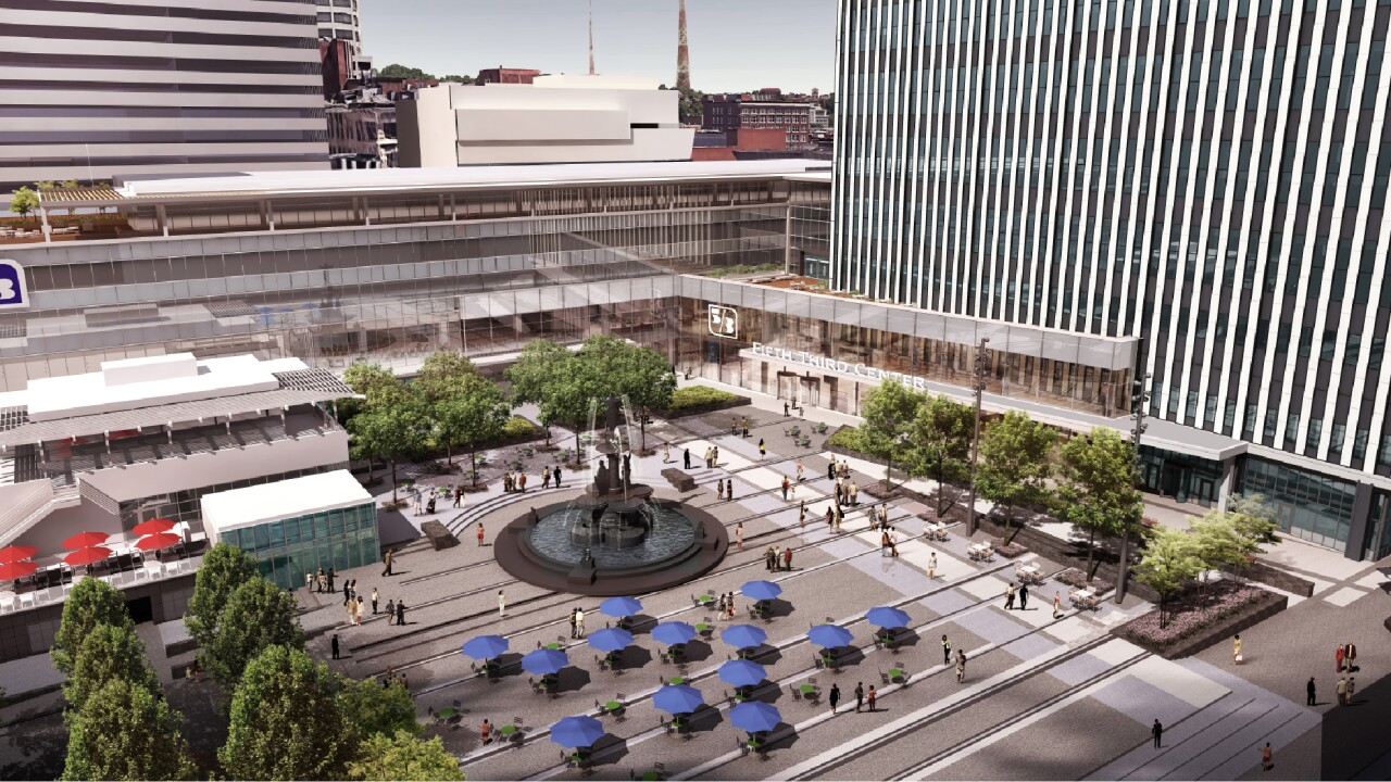 Fifth Third Bank expansion rendering 3