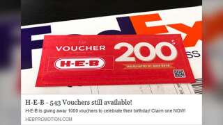 Fact Check: H-E-B Voucher
