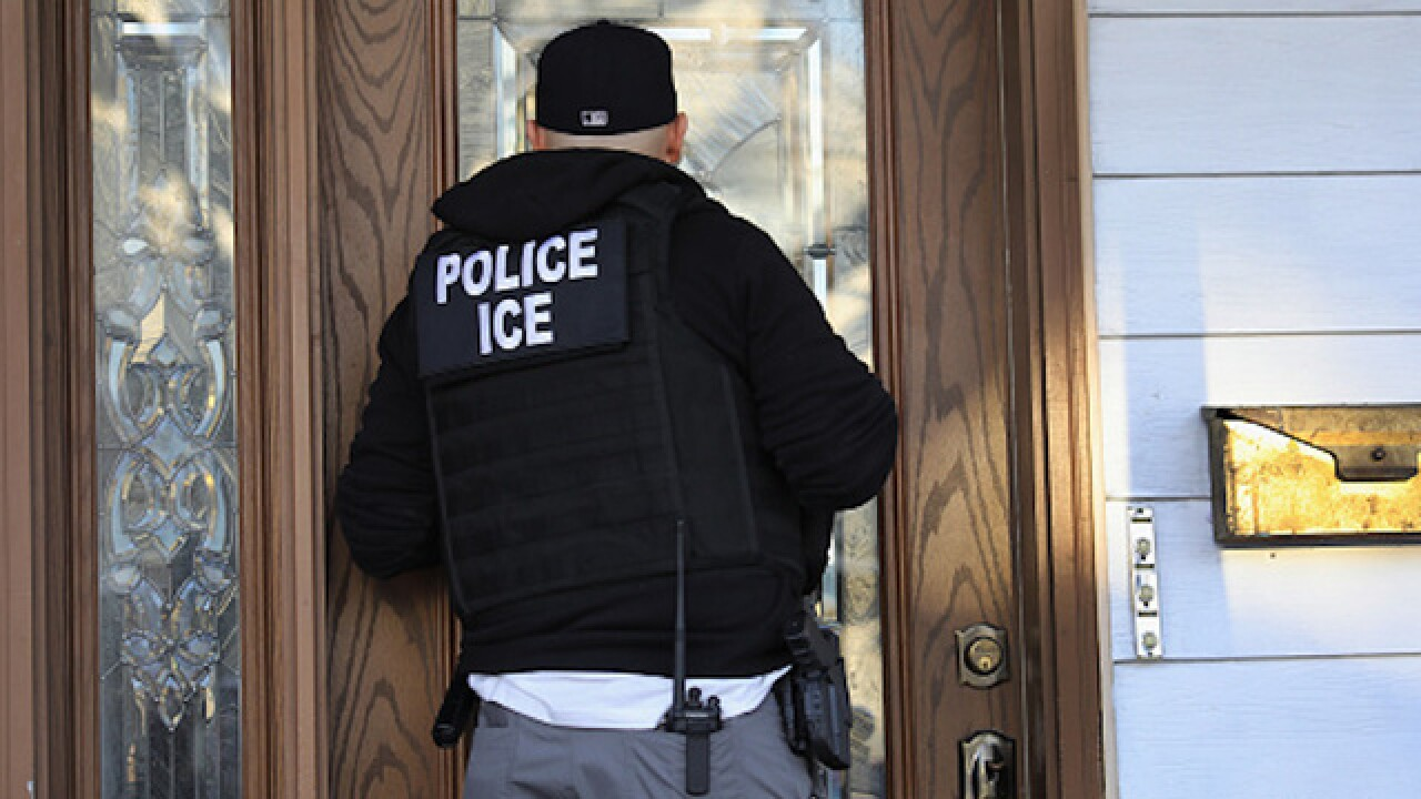 Lawyer says ICE agent pushed her over