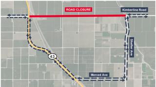 HSR contruction road closure