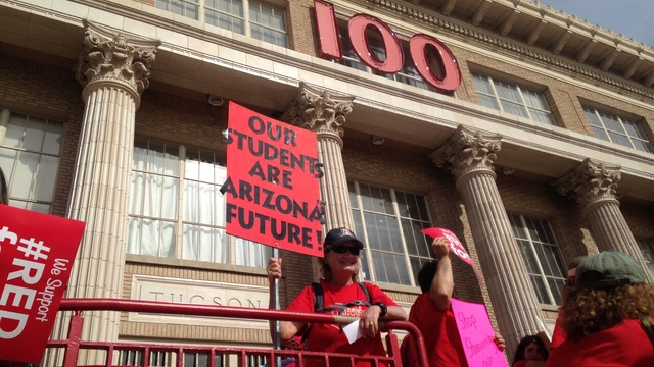 #RedForEd: More talk about a strike
