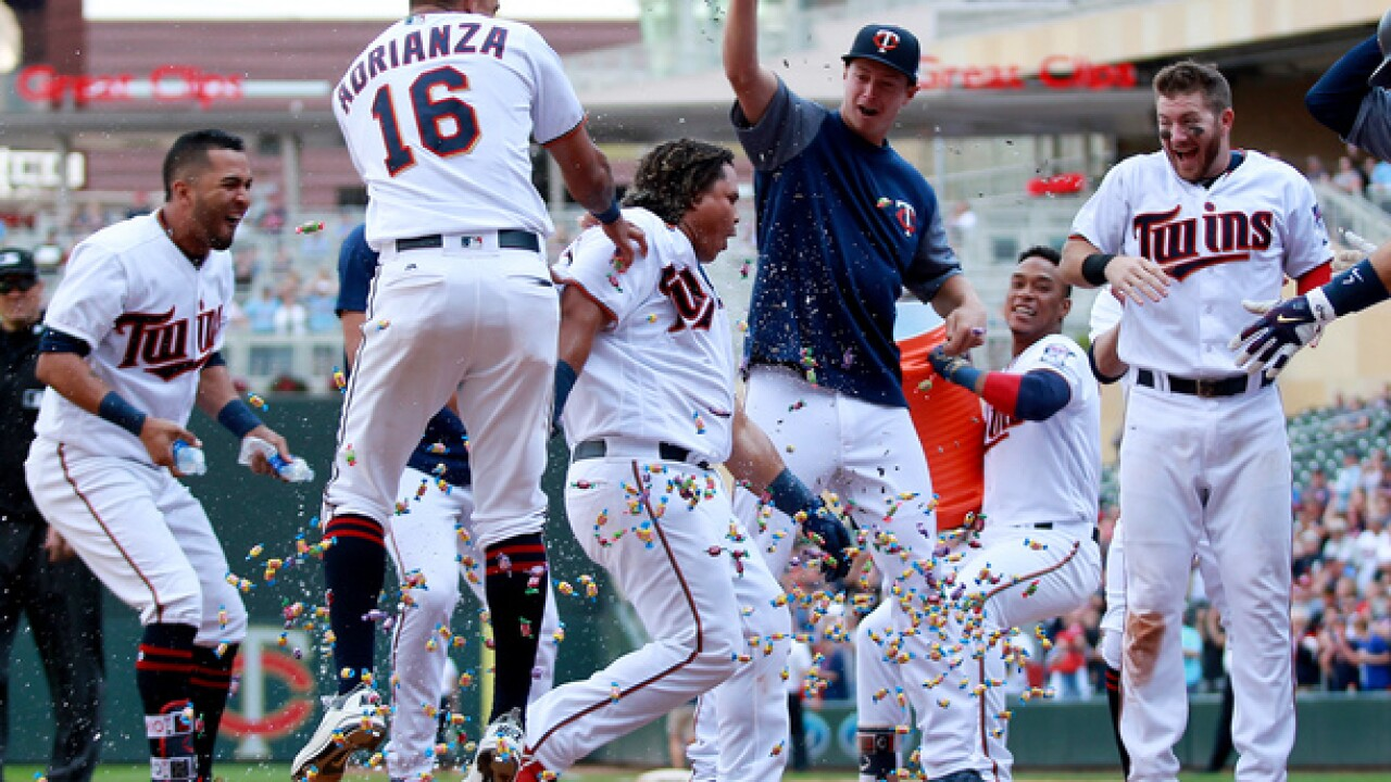 Twins beat Royals 3-1 via walk-off home run