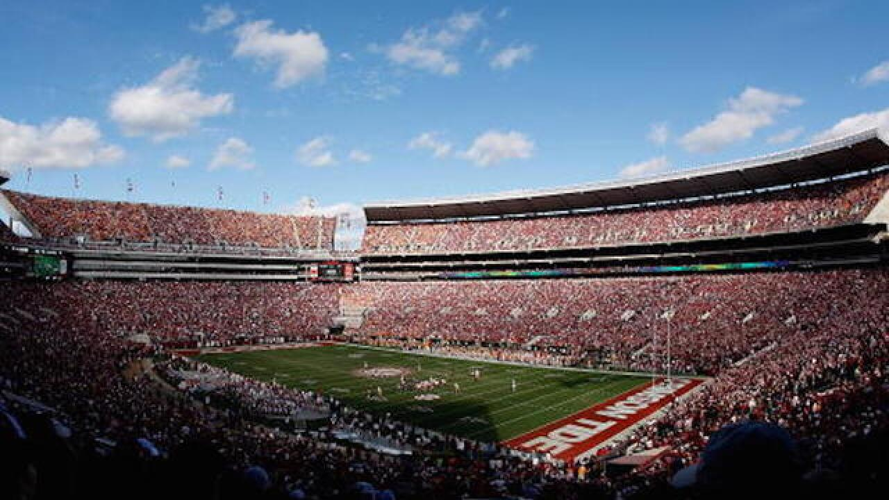 Water pressure issues in Alabama force 100K fans to 'hold it'