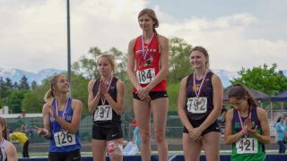 State AA track and field: Delaney Bahn breaks long jump record as Bozeman girls take big lead
