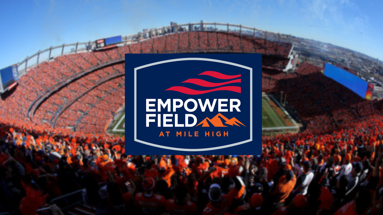 Empower Field at Mile High: Broncos agree to a 21-year naming rights deal  with Empower Retirement