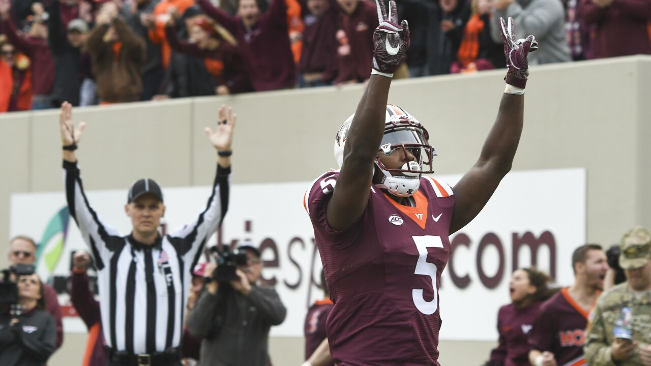 Bowl holes for Hokies? Tech to be without leading receiver, rusher vs. OklahomaState
