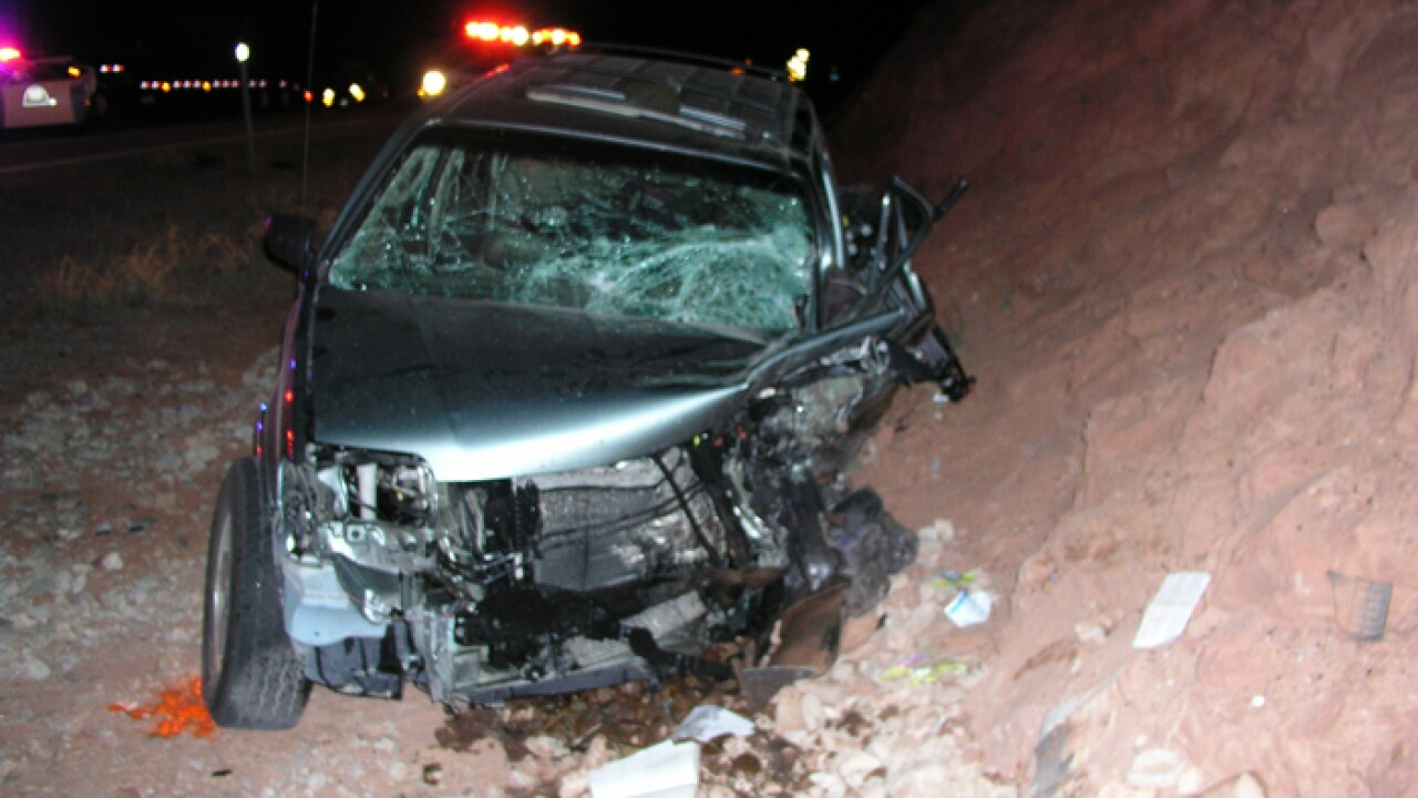 Man dies in head-on crash near Moab