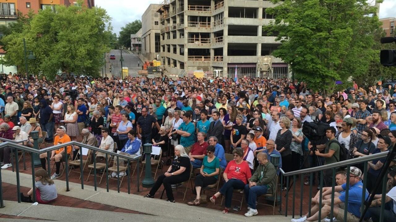 PHOTOS: Bloomington vigil for Orlando victims