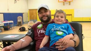 Ross family planning statewide #TroyStrong blood drive