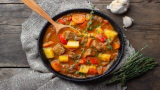 This Easy Vegetable Beef Soup Is Perfect Fall Comfort Food