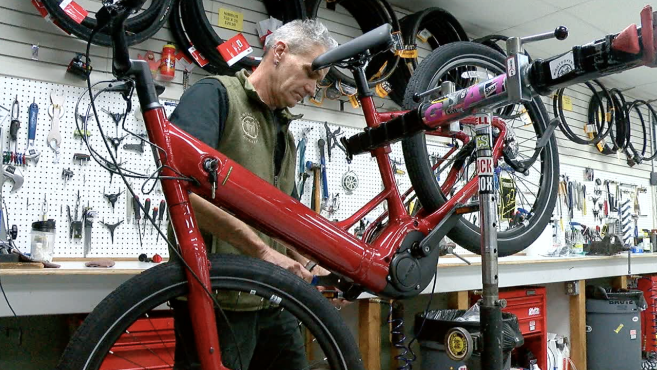 Smart Streets grant bicycles