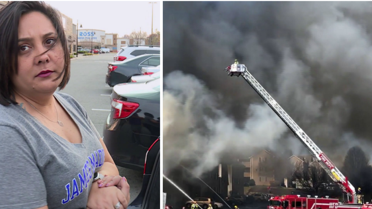 Richmond mother helps gather supplies for JMU students displaced afterfire