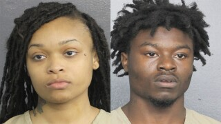 Jayla Patton and D'Angelo Cincord, suspects in teen's fatal shooting at Pompano Beach hotel