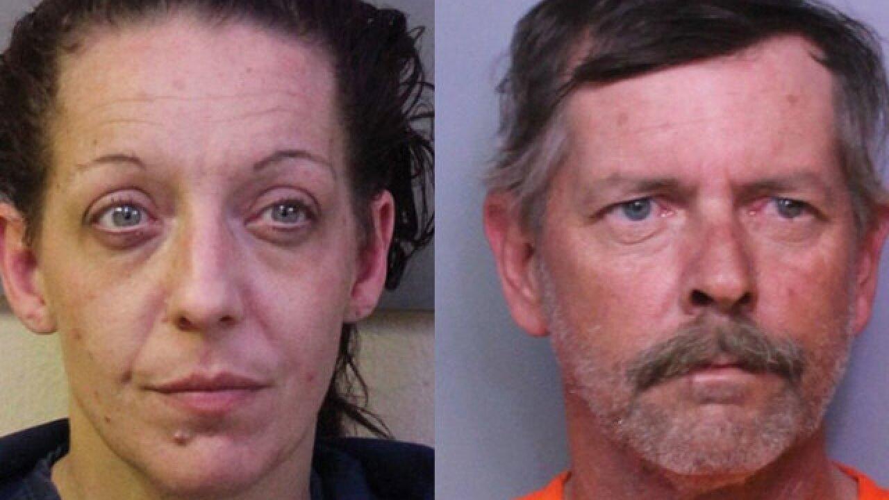 Police: Florida man hid legless fugitive girlfriend in plastic tote