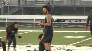 Colin Kaepernick Workout