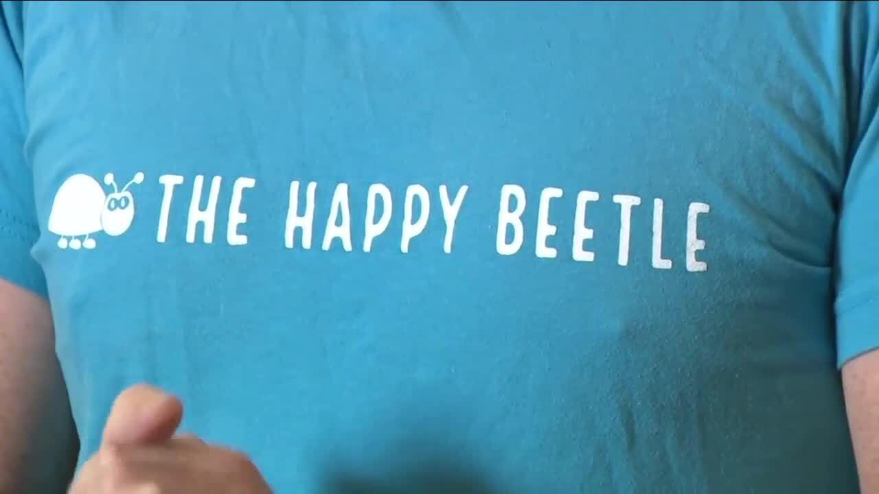 The Happy Beetle