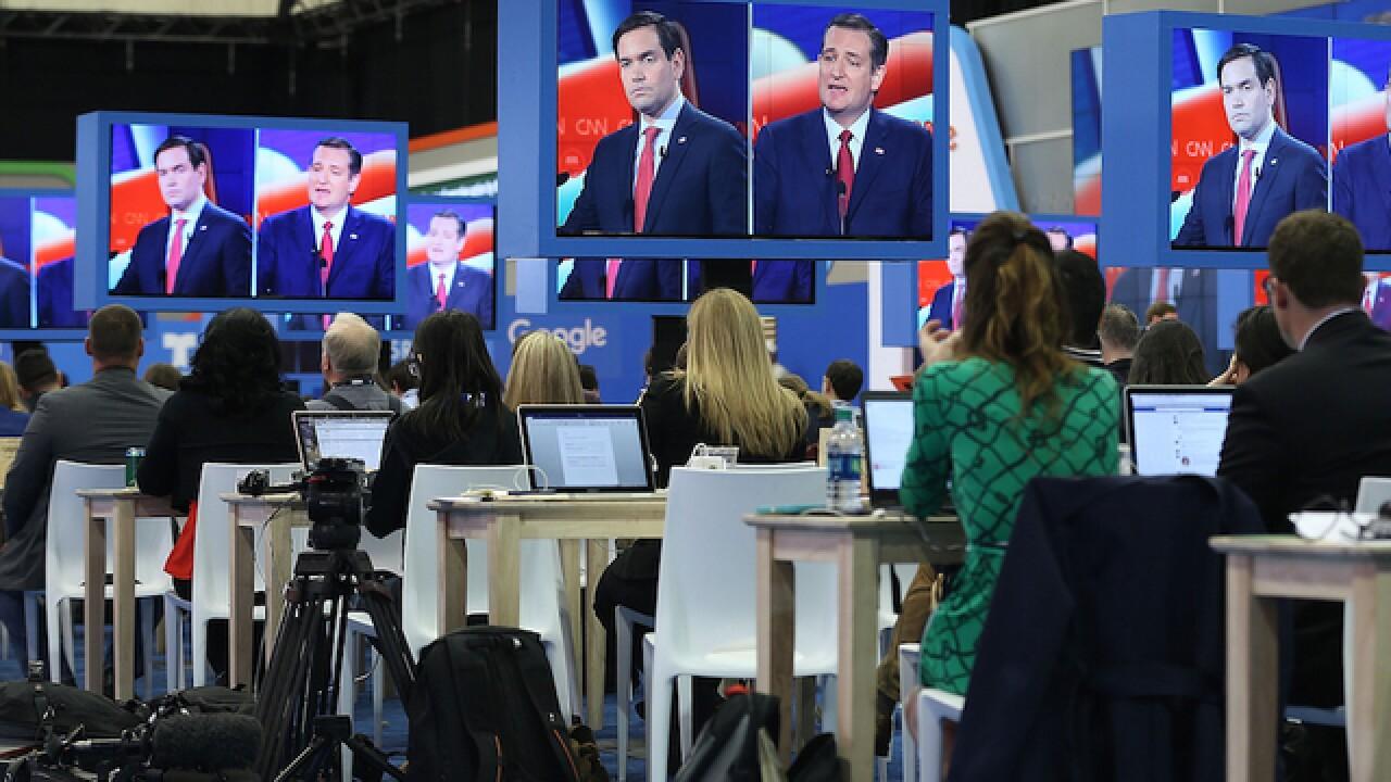 Debate brawl: Rubio and Cruz go hard after Trump