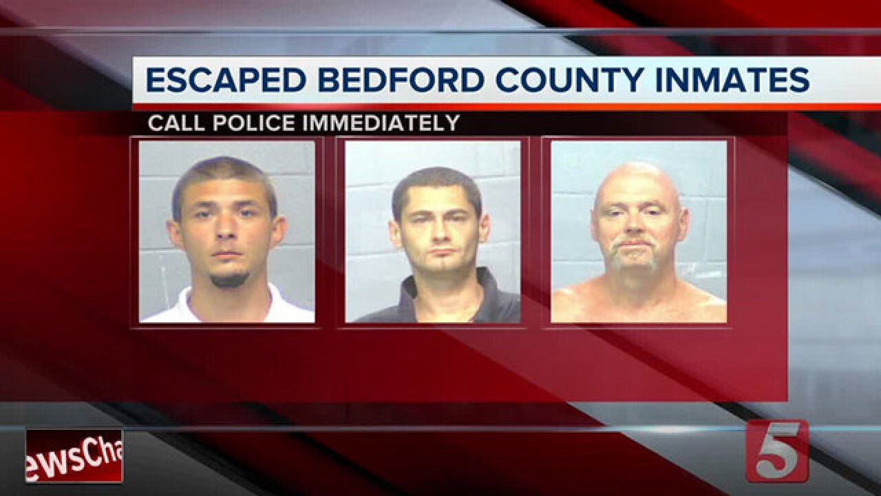 3rd, Final Bedford County Escaped Inmate Captured