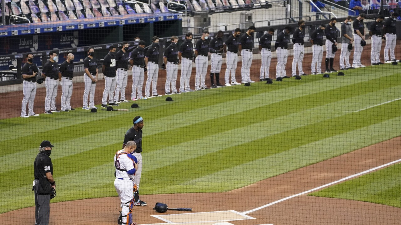 Mets, Marlins walk off field as video circulates of GM saying MLB 'doesn't get it'