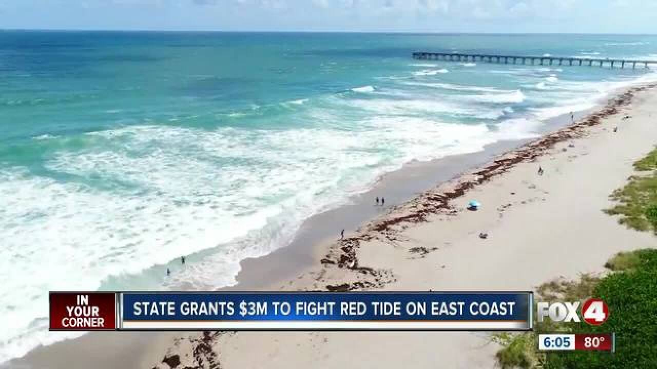 Gov. Scott will provide $3 million for red tide