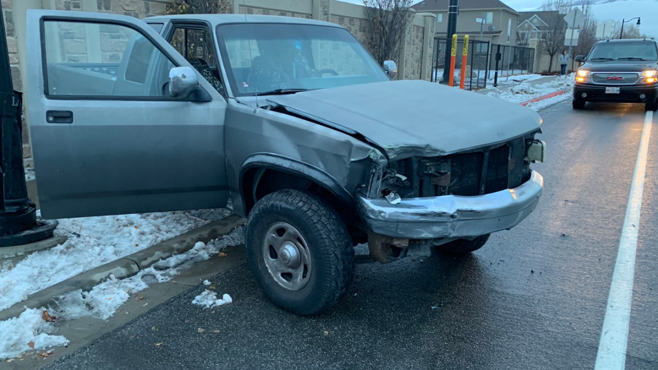 Driver crashed into another car while participating in the 'Bird Box Challenge'