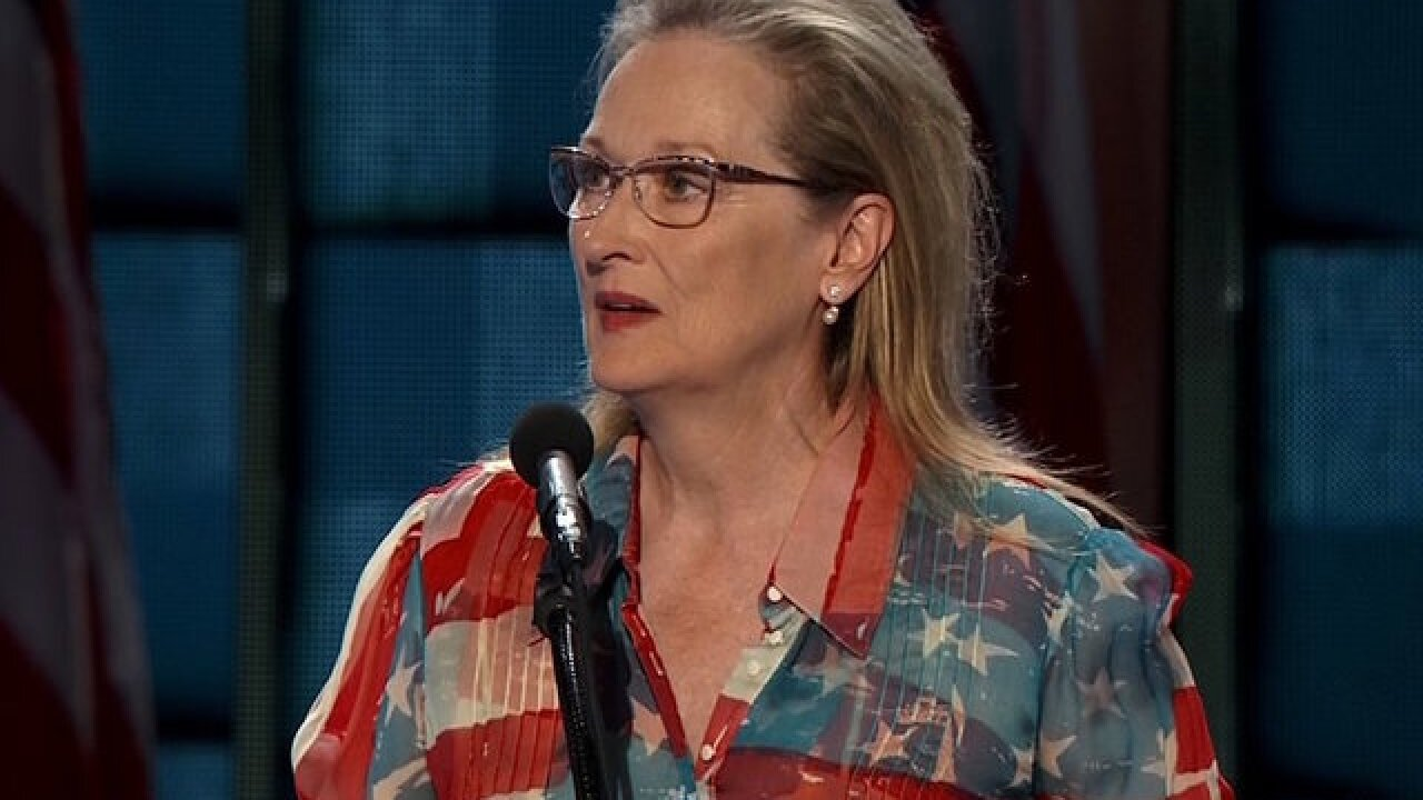 Meryl Streep speaks out on 'disgraceful' Harvey Weinstein allegations