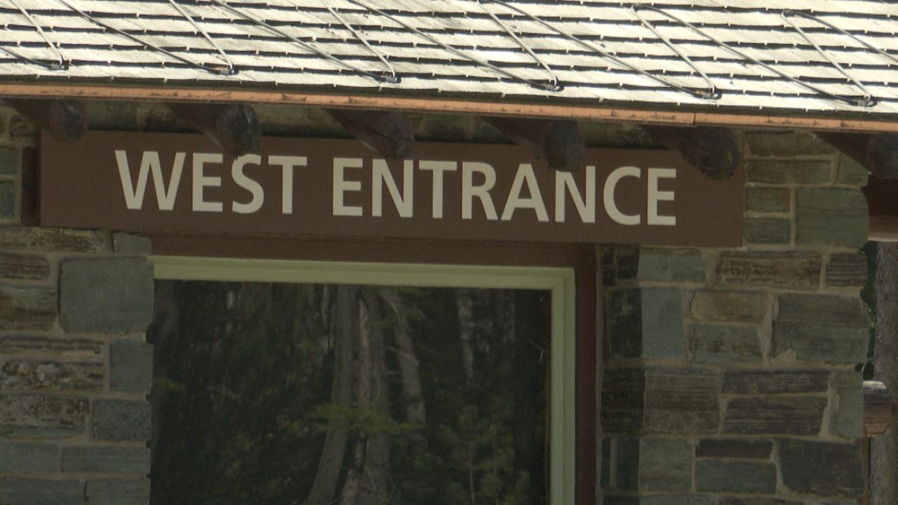West Glacier Entrance