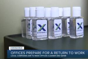 Offices prepare for a return to work
