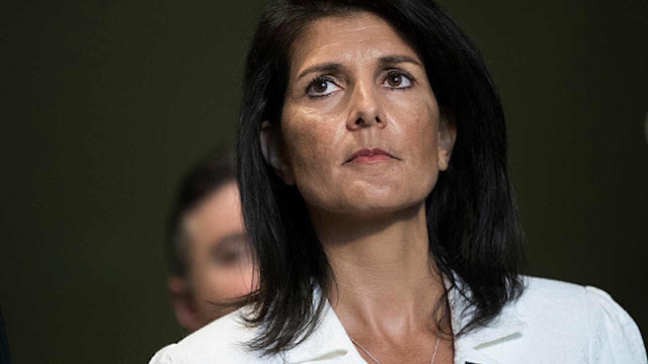 Nikki Haley tells the UN that the US is prepared to do more in Syria