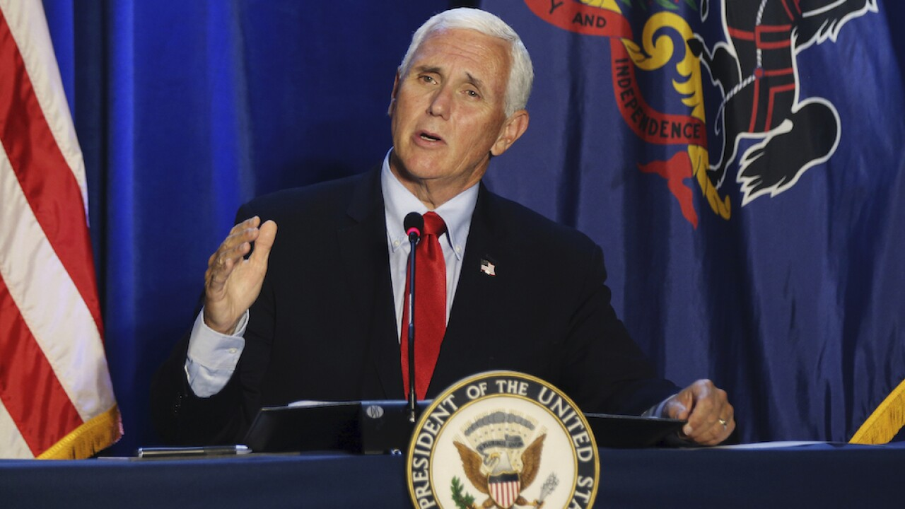 Pence to provide coronavirus briefing to healthcare workers in Philadelphia