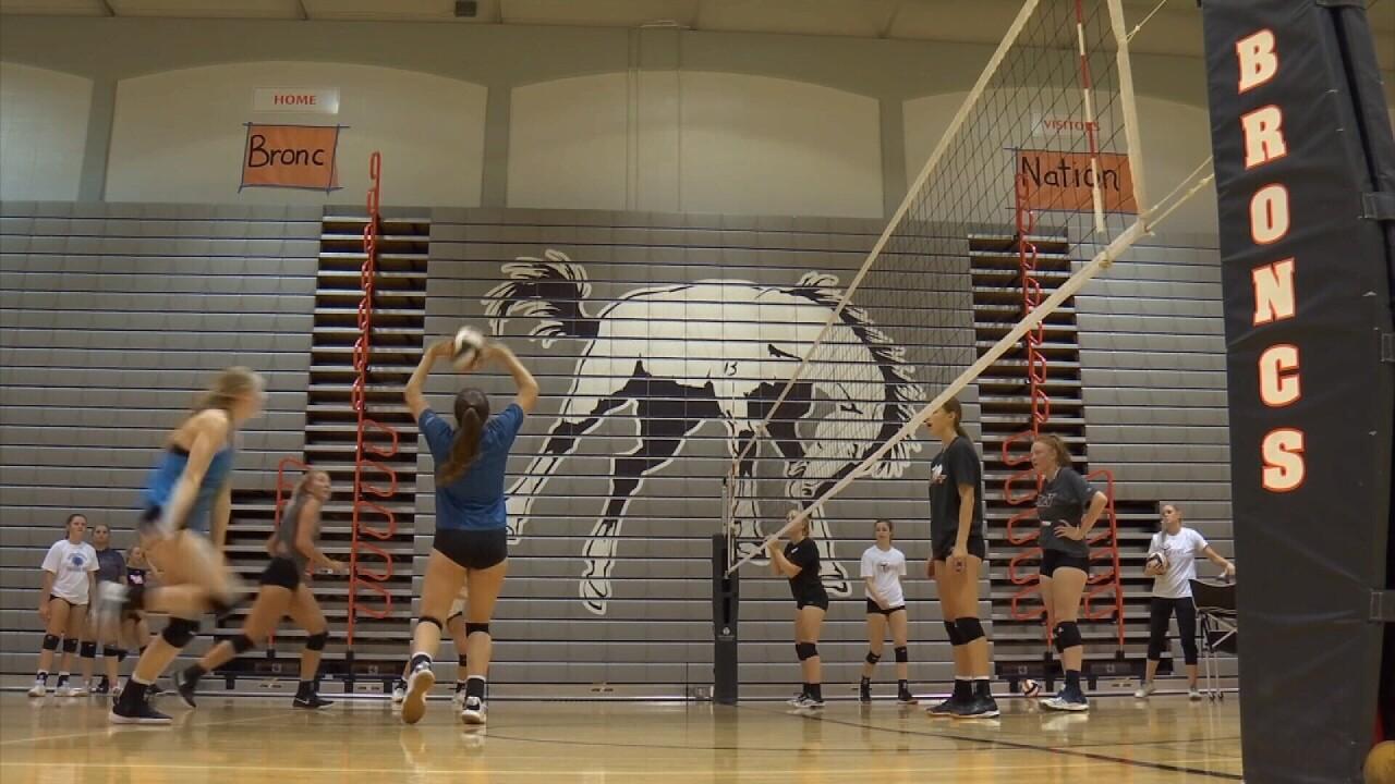 Billings Senior volleyball