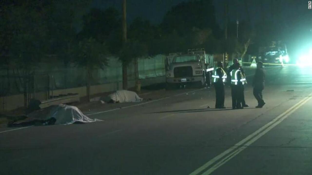 2 horses killed in a hit-and-run wreck