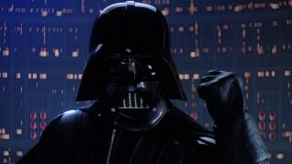 Darth Vader in scene from 'The Empire Strikes Back'