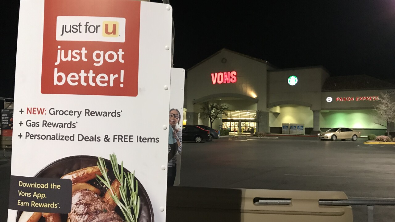The Vons located at Windmill Parkway and Pecos has revealed an employee recently tested positive for COVID-19