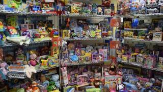 Santa's Toy Box at St. Luke's Children's