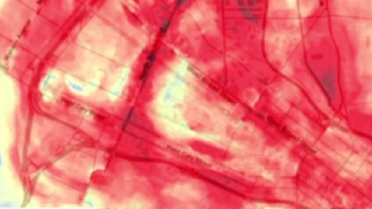 'Heat Risk' initiative to find areas most at risk for extreme heat