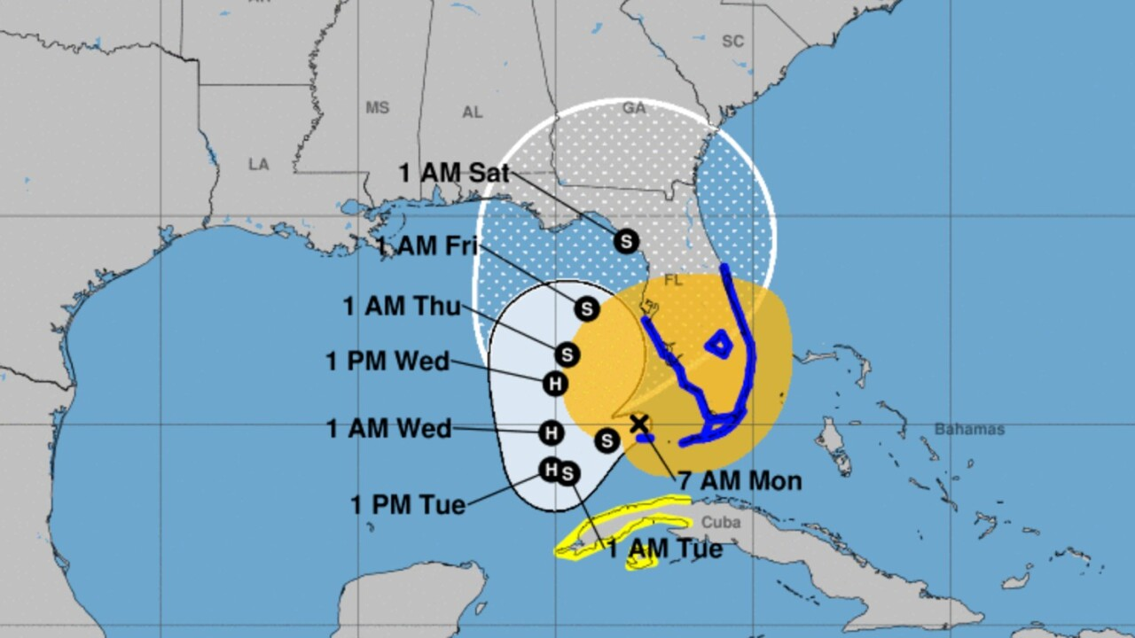 Already flooded, Florida feeling wrath of Eta as the tropical storm slowly progresses