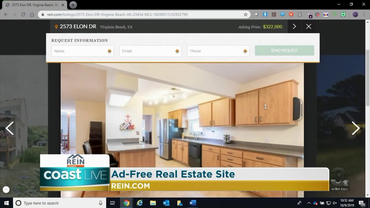 A real estate listing site with local information and no ads on CoastLive