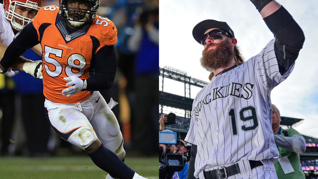 Big day for Denver sports: Rockies play for NL West title; Broncos host Chiefs on MNF
