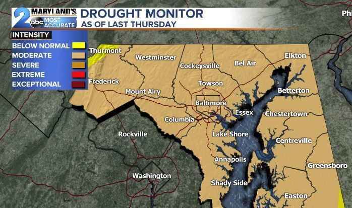 Drought Monitor As Of October 24, 2019