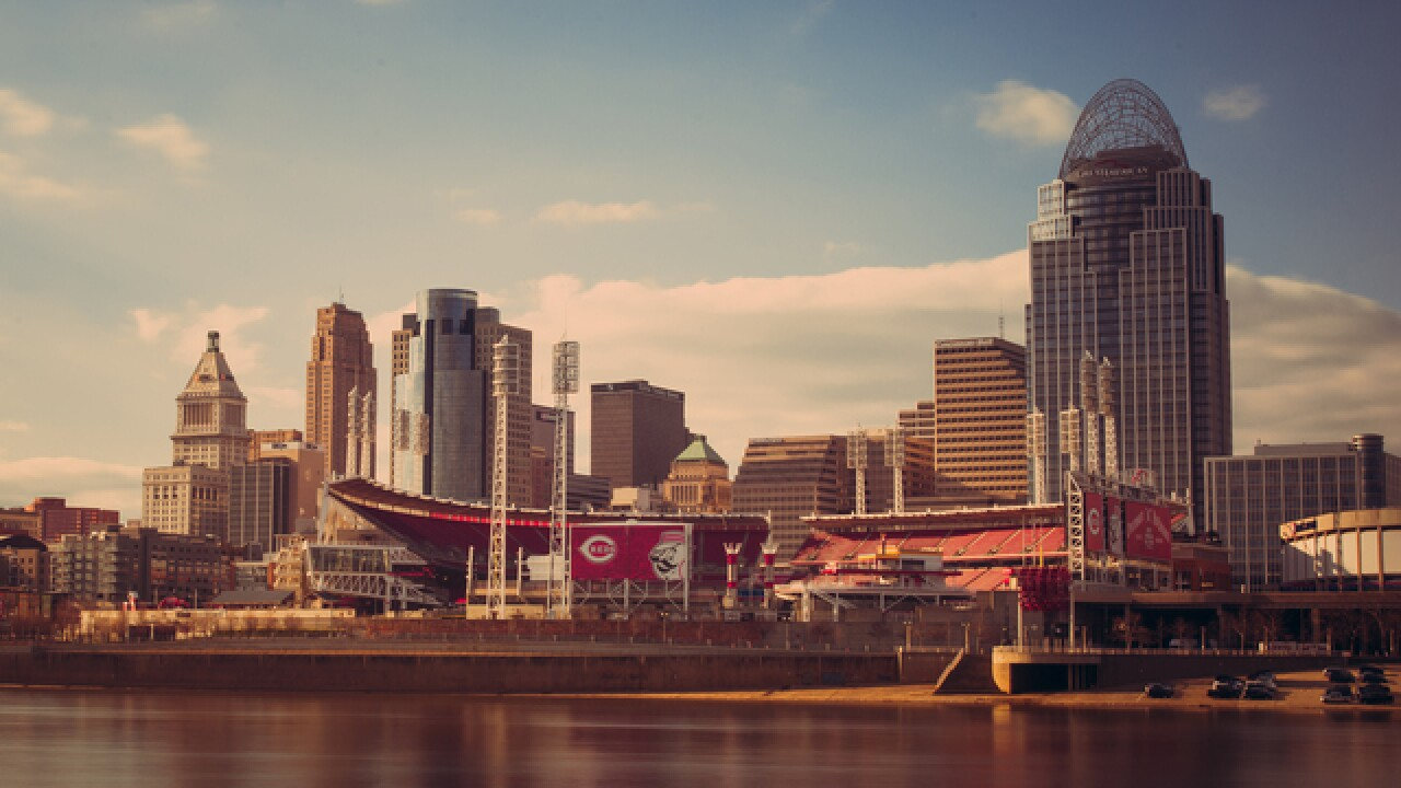 Cincygram captures Great American Ball Park awakening to a new season