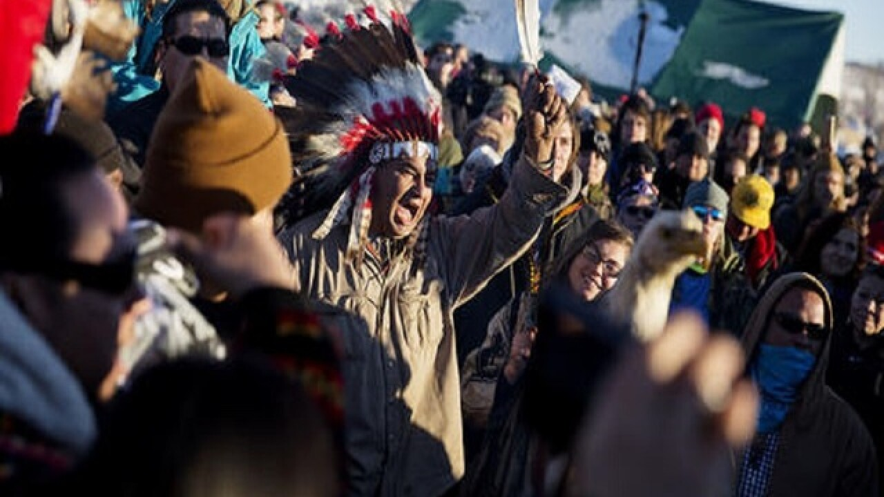 Federal government blocks Dakota Access oil pipeline route
