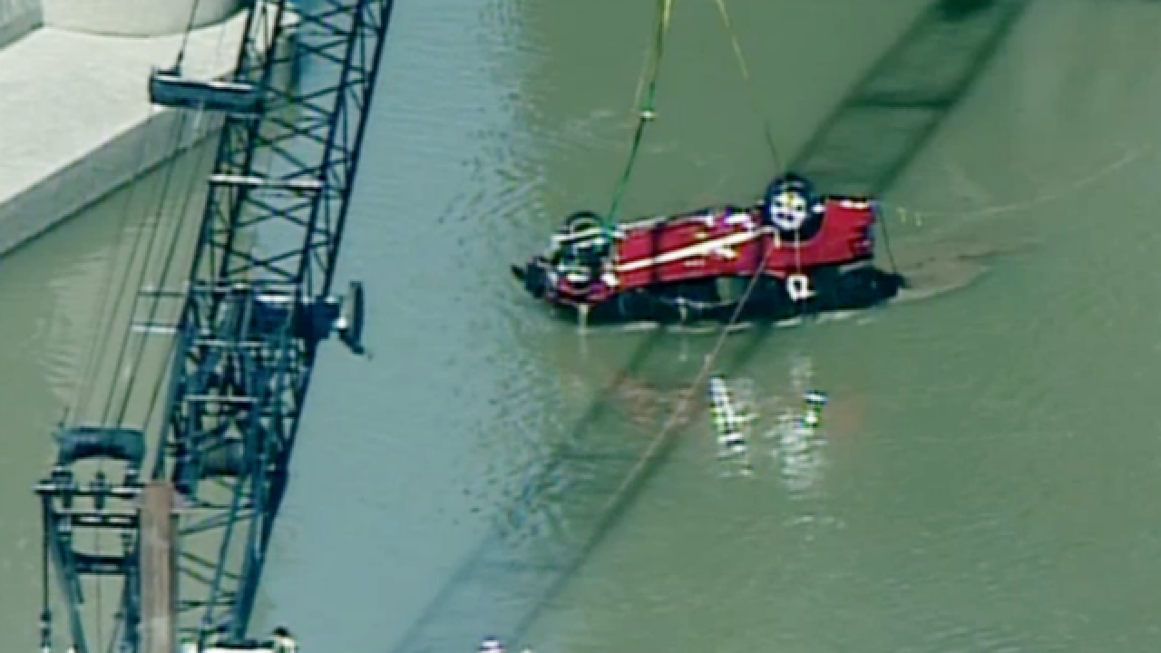 Coroner names driver killed in plunge off bridge