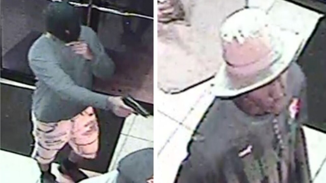2 men wanted for arcade armed robbery, Palm Beach County