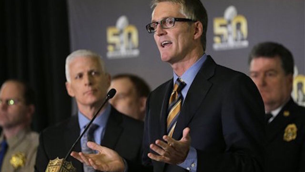 NFL: No credible threat to Super Bowl 50