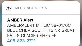 AMBER Alert issued for Glacier County child