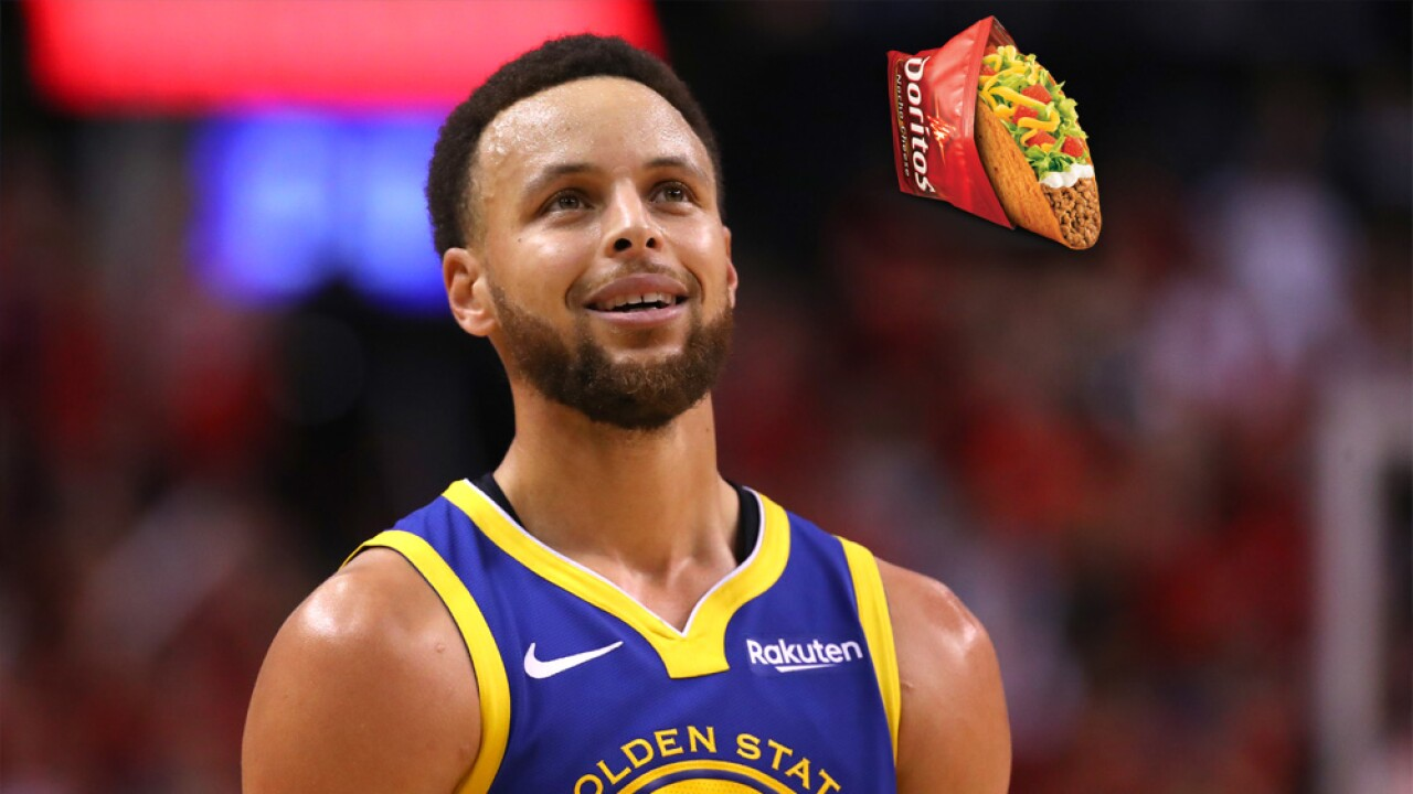 Everyone in America gets a free Taco Bell taco thanks to the Golden State Warriors